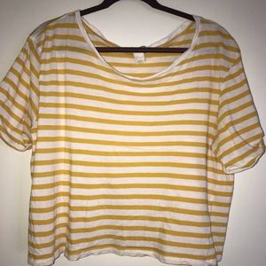 H&M basic stripped T-shirt